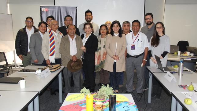Ministerio de Cultura desarrolló la XXIII Sesión del Grupo de Trabajo de Políticas Indígenas
