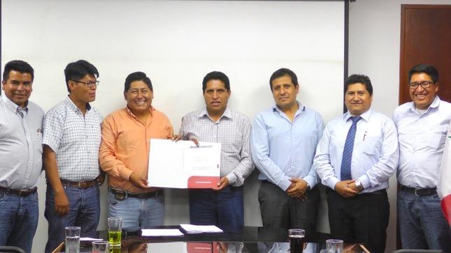 MTC y autoridades locales de Cotabambas trabajan conjuntamente para la ejecución de obras