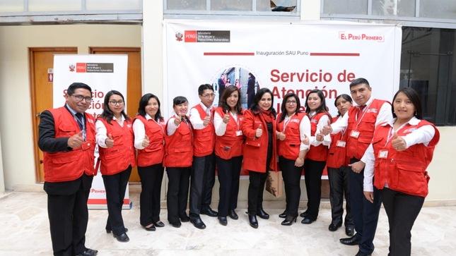 Puno: MIMP inaugura Servicio de Atención Urgente (SAU) para fortalecer asistencia inmediata a víctimas de violencia de género