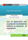 Ver informe Guía de elaboración de expedientes técnicos y saneamiento