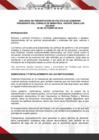 Ver informe Discurso de presentación de Política de Gobierno - Presidente de Consejo del Ministros, Vicente Zeballos Salinas