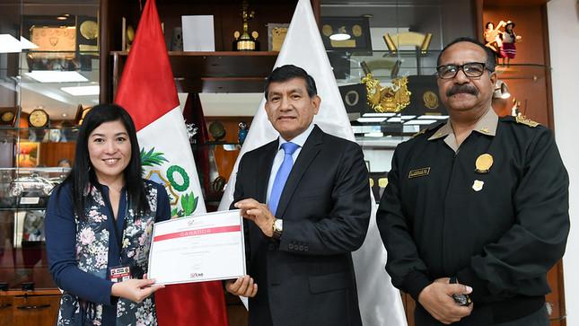 Atención policial en quechua gana premio a Buenas Prácticas en Gestión Pública