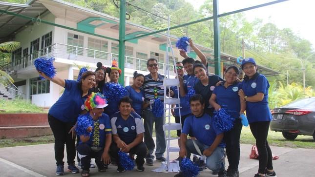 Trabajadores de la DRE participaron en los talleres de Educación Ambiental y Coaching
