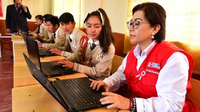 Más de 180 mil huanuqueños accederán a internet de alta velocidad