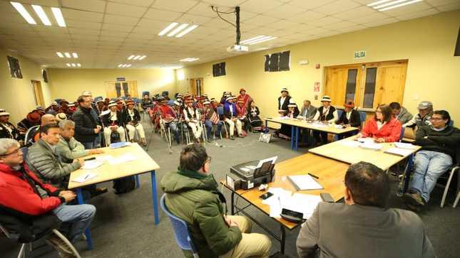 Ejecutivo continúa con el seguimiento y verificación de avance del proceso de diálogo en Fuerabamba