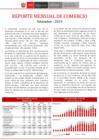 Ver informe Reportes de Comercio - Reporte Mensual de Comercio Exterior - Setiembre 2019