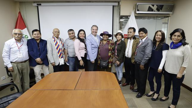Ministro de Cultura reafirmó compromiso de respetar derechos colectivos de pueblos indígenas u originarios