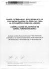 Ver informe Procedimiento Especial de Contratación Nº 002-2019-VIVIENDA-OGA-UE.001