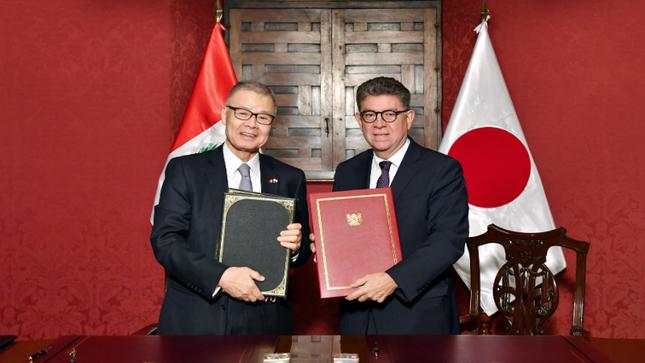 Perú y Japón suscriben convenio para evitar la doble tributación y prevenir la evasión fiscal