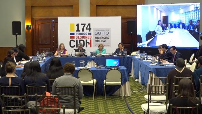 Debate sobre la reforma judicial en el Perú en sesión de la Comisión Interamericana de Derechos Humanos