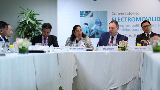"""Ministra Fabiola Muñoz: """"La electromovilidad debe ser una política de Estado que trascienda varios gobiernos"""""""