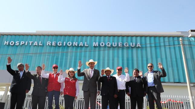 Jefe de Estado pone en funcionamiento nuevo Hospital Regional de Moquegua en beneficio de 90 mil ciudadanos