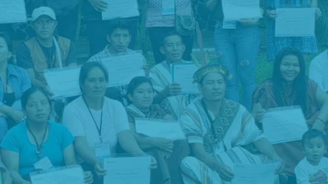 Representantes de organizaciones nacionales de pueblos indígenas participaron en sexto curso sobre certificación ambiental del Senace
