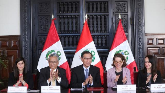 El Gobierno del Perú y el Banco Mundial suscribieron convenio para modernizar y darle celeridad a los servicios de justicia en el país