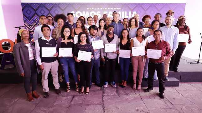"""Ministro de Cultura clausuró el IV Encuentro de Organizaciones Afroperuanas """"Somos Familia"""""""