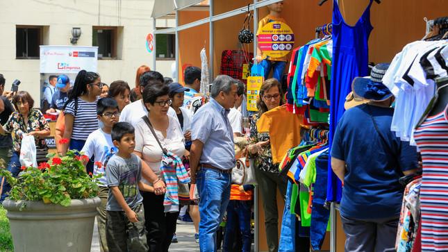 Produce Quot Gamarra Outlet Quot Capto A Mas De 25 000 Visitantes Y Compradores Gobierno Del Peru