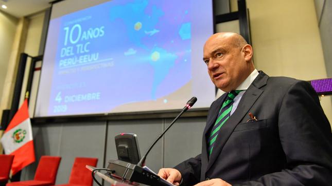 Cancillería conmemora el décimo aniversario de la entrada en vigencia del Tratado de Libre Comercio Perú-Estados Unidos