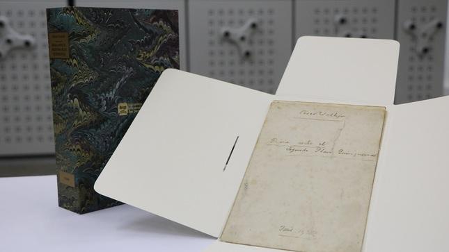 """Ministerio de Cultura declara Patrimonio Cultural de la Nación el manuscrito """"Rusia ante el Segundo Plan Quinquenal (1932-1933)"""" de César Vallejo"""