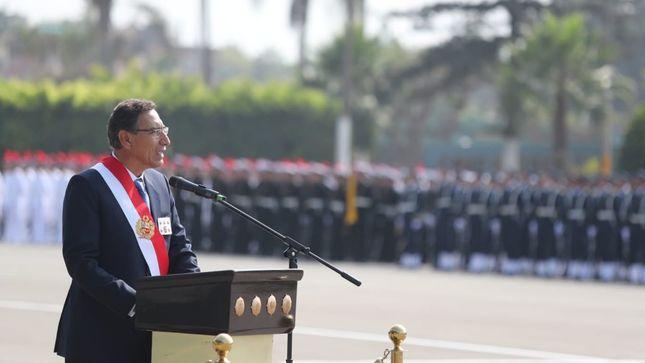 Mandatario: Entre 2019 y 2020 se incorporarán cerca de 20 mil nuevos policías para reforzar la seguridad de los peruanos