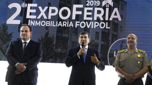 Ministro Morán anuncia adjudicación de más de dos mil viviendas para familia policial