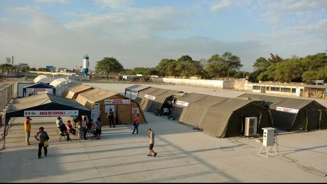 Minsa fortalece regiones con hospitales de campaña frente a la temporada de lluvias