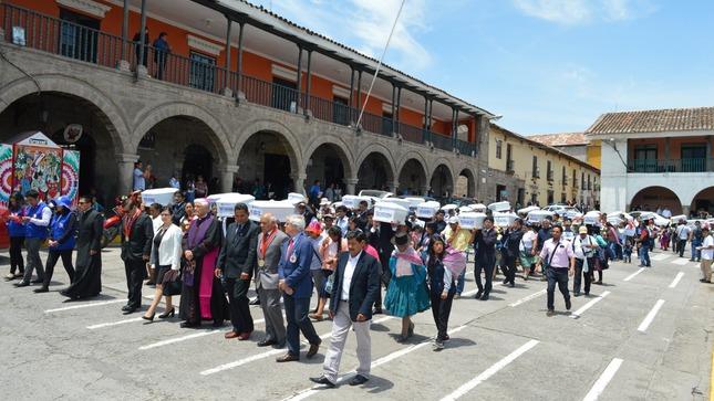 Estado peruano restituye 81 cuerpos de víctimas  del periodo de violencia 1980-2000