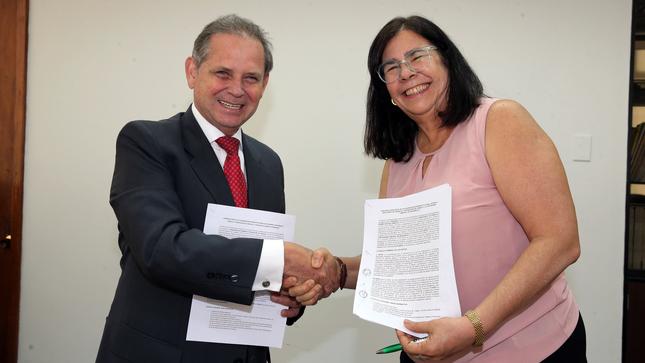 MTPE suscribe convenios para fortalecer registro sindical y elaboración del dictamen económico laboral
