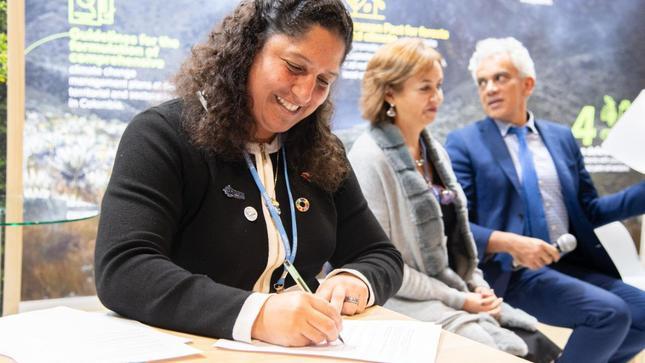 """Ministra del Ambiente suscribe en COP25 de Madrid el Plan de Acción para implementar """"Pacto de Leticia"""""""