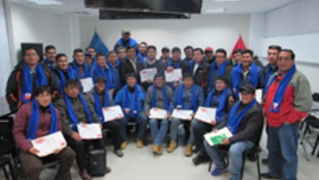 Dirección General de Trabajo capacitó a treinta (30) representantes de organizaciones sindicales de la actividad minera y metalúrgicos de la Región Pasco