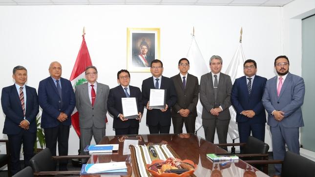 Minagri e INEI firman convenio para ejecutar Encuesta Nacional Agraria (ENA)