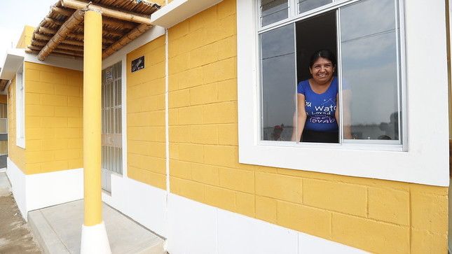 Número de viviendas promovidas por el MVCS alcanzó récord histórico el 2019 con más de 75 000 unidades