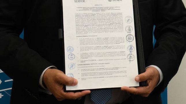 Senace y SERFOR amplían vigencia de convenio interinstitucional para fortalecer el proceso de certificación ambiental