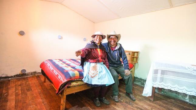 Poblaciones en zonas de frío extremo y zonas de riesgo son atendidas gracias a trabajo articulado entre Midis y gobierno regional de Huancavelica