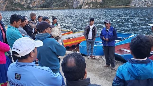 Productores del PN Yanachaga Chemillén y RP Nor Yauyos Cochas intercambian experiencias en manejo de recursos
