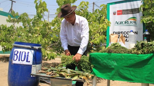 BIOL: El método artesanal preventivo que promueve Minagri para mejorar el rendimiento y calidad de los productos agropecuarios