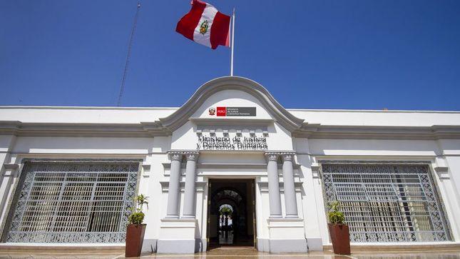 MINJUSDH remitió aportes jurídicos al proyecto de reglamento de procedimientos disciplinarios de la Junta Nacional de Justicia