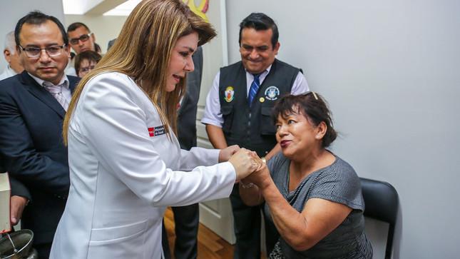 Carmen de la Legua Reynoso ya cuenta con un centro de salud mental comunitario