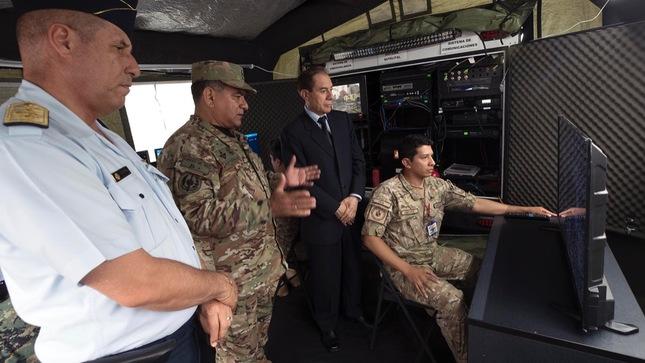 Ministro de Defensa inauguró instalaciones del Comando Operacional de Ciberdefensa
