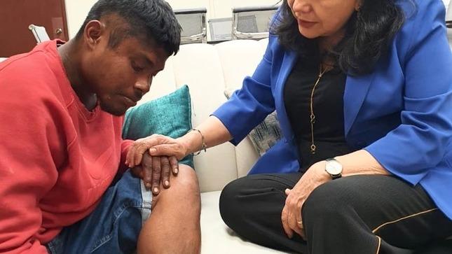 Marcos Zuleta, joven que salvó a una mujer de ser quemada por su pareja, recibirá atención especializada por parte del MIMP