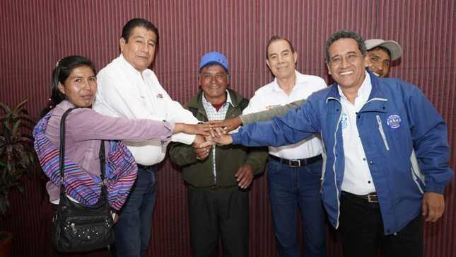 Cajamarca: MVCS brindará asistencia técnica para desarrollar megaproyecto de agua para 16 centros poblados
