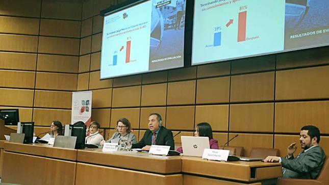 Barrio Seguro presenta su trabajo de prevención de drogas y violencia en jóvenes peruanos en Austria