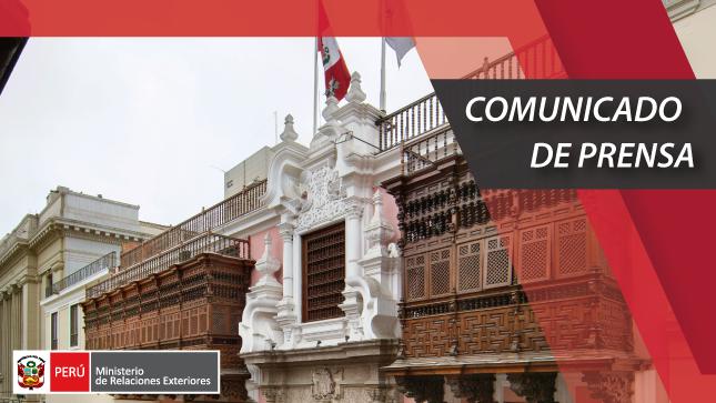 El Ministerio de Relaciones Exteriores informa sobre el sensible fallecimiento del Embajador del Servicio Diplomático peruano, Jorge Valdez Carrillo
