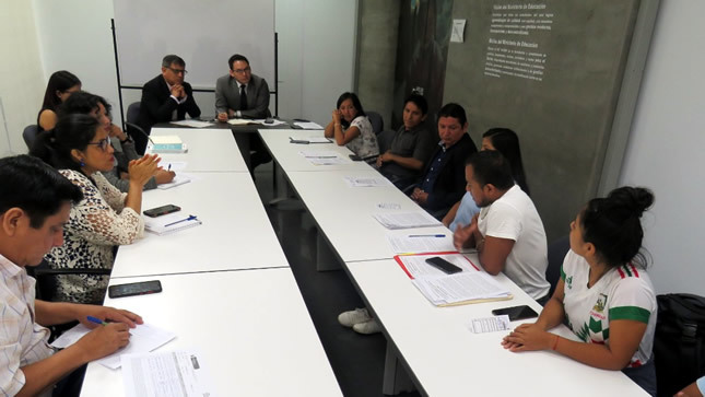 Minedu dialoga con estudiantes de la Universidad Nacional Intercultural de la Selva Central Juan Santos Atahualpa