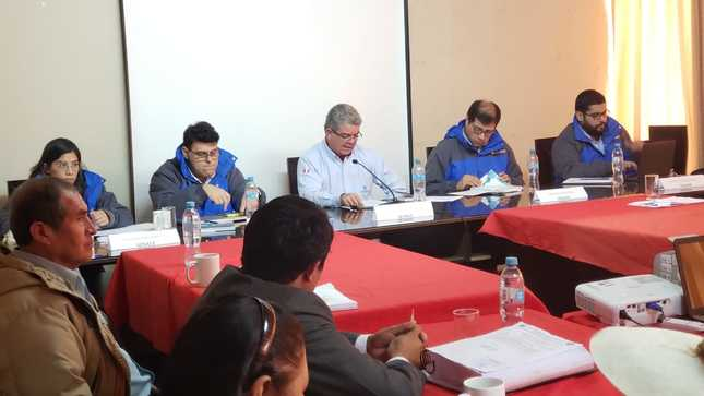 Comunicado sobre visita del Senace a distrito de Pallpata