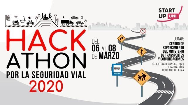 ¡Únete a la Hackathon! MTC lanza convocatoria para encuentro tecnológico por la Seguridad Vial 2020
