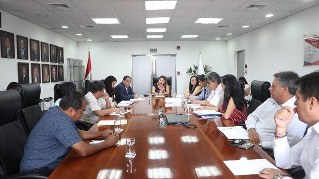 Reunión con la Asociación Regional de Armadores Artesanales de Pescadores del Callao (ARAPESCA) y de la Asocación de Pescadores Artesanales Cultivadores y Marisqueros del Callao (APACMC)