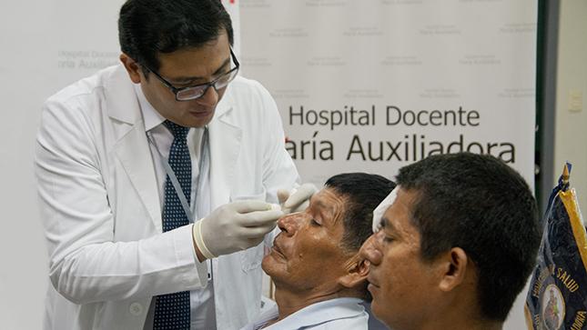 Pacientes con problemas de visión retomarán sus actividades tras exitosos trasplantes de córnea