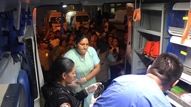 Primer traslado aéreo de paciente de la Policía Nacional se realizó con éxito gracias a convenio entre el MININTER y SaludPol