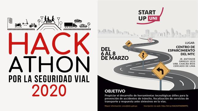MTC lanza convocatoria para primera Hackathon por la Seguridad Vial 2020