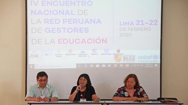 Viceministra Patricia Andrade pide a los docentes impulsar la evaluación formativa de escolares